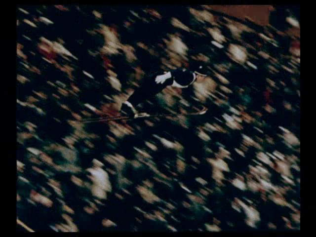 Fra filmen Ski-konkurransenes hovedstad, 1956. Regi: Thorleif Schelderup.