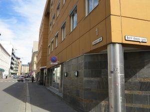 Calmeyersgaten 1 i dag. Foto: Johanne Bergkvist
