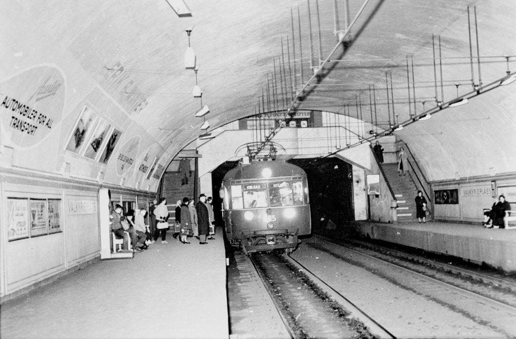 foto av Valkyrieplass stasjon