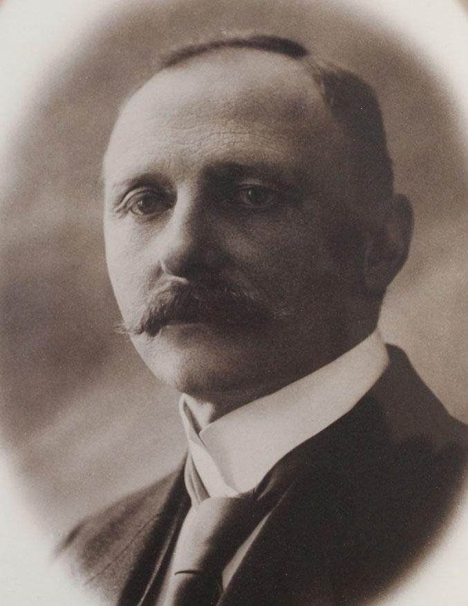 Portrett av Jørgen Barth